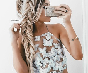 bracelet, braid, and fishtail image