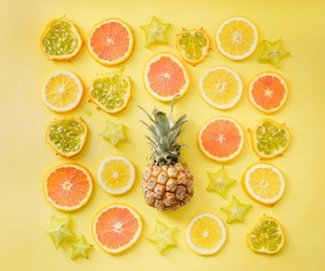 orange, food, and yellow image