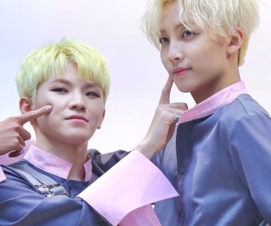 Seventeen, jeonghan, and woozi image
