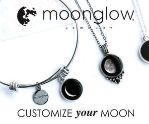 moon phases and swarovski necklace image