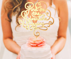 cake toppers, wedding decor, and wedding cake topper image