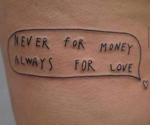 always, money, and never image