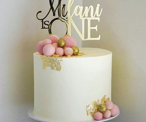 Blanc, rose, and gâteau image
