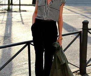 black, classic, and outfit image