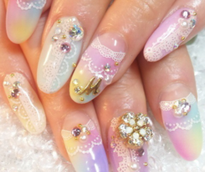 inspiration, nails, and pastel image