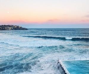ocean, beach, and summer image