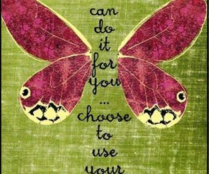 butterfly, wings, and quotes image