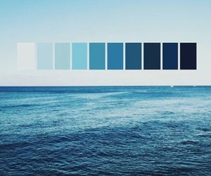 blue, ocean, and pretty image