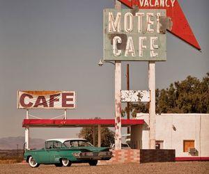 vintage, cafe, and motel image