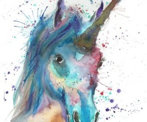 unicorn and art image