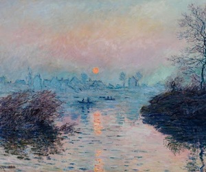 art, monet, and claude monet image