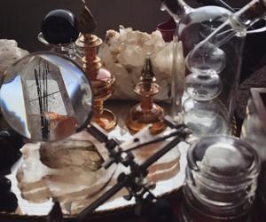 alchemist, alchemy, and crystal image