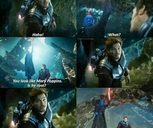 funny, Marvel, and star-lord image