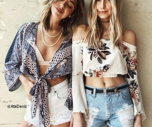 boho, chic, and girls image