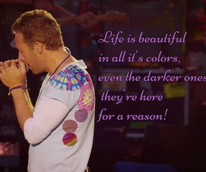 celebrities, Chris Martin, and coldplay image