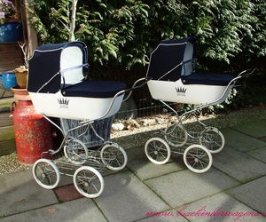 retro and stroller image
