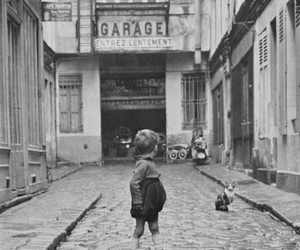 france, little boy, and old image