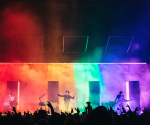 the 1975, pride, and rainbow image