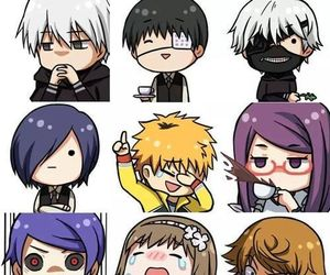 anime, chibi, and tokyo ghoul image