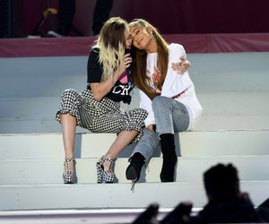 ariana grande and miley cyrus image