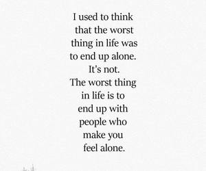 alone, end, and texts image