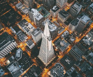 building, high, and city image