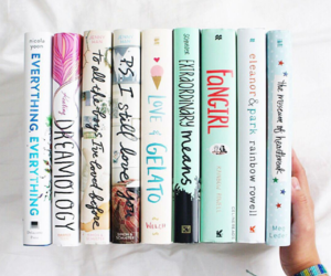 books, eleanor and park, and reading image