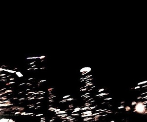 dark, theme, and city image