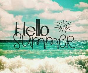 beautiful, sea, and summer image