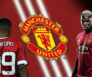 gimp, manchester united, and pogba image