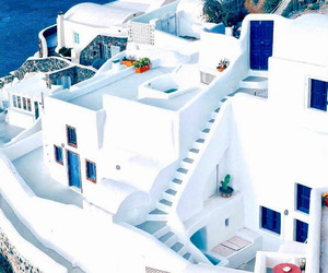 Greece, holidays, and santorini image