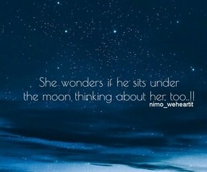 he, love quotes, and moon image
