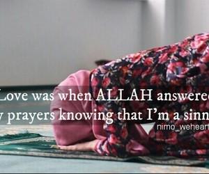 hijab, islam, and prayers image