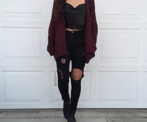 fashion, outfit, and clothing image