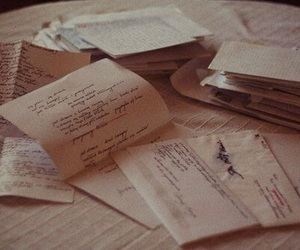 letters, Letter, and vintage image