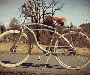 bicycle, vintage, and oldbutgold image