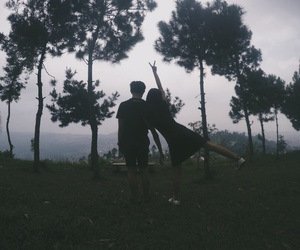 adventure, couple, and crazy image