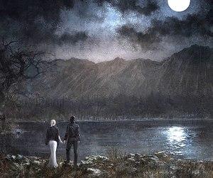luna, noctis lucis caelum, and final fantasy xv image