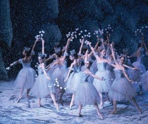 ballet, the nutcracker, and waltz of the snowflakes image