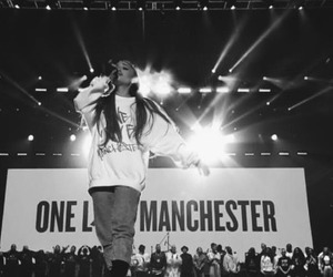 concert, manchester, and ariana grande image