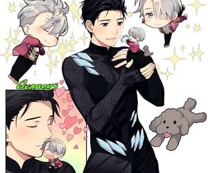 anime, yuri on ice, and yuri!!! on ice image