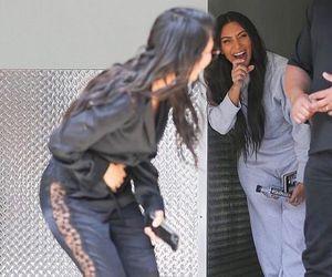 kim kardashian and kourtney kardashian image