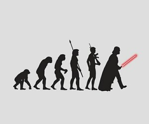 star wars, darth vader, and evolution image