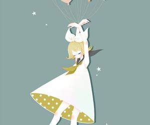 anime girl, kagamine rin, and cute image