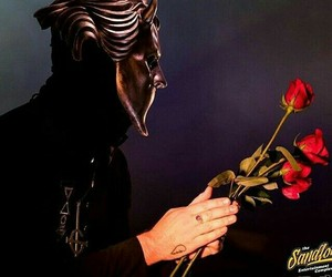 ghost, roses, and namelessghoul image