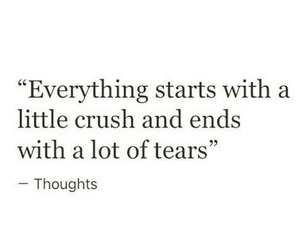 crush, love, and tears image