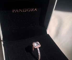 ring, pandora, and luxury image