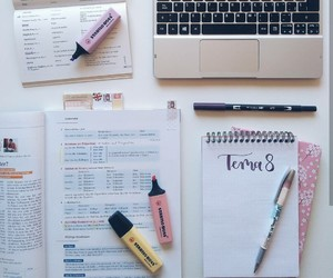planner, school, and stationary image