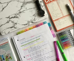 homework, inspiration, and planner image