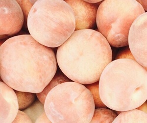 peach, theme, and fruit image